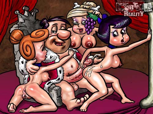 adult flintstones